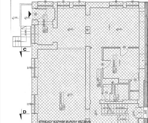 Balicka 35 budynek frontowy rzut parter